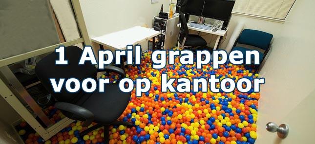 20 leuke 1 april grappen voor op kantoor - Versieren kantoor ...