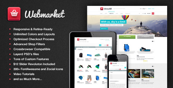 webmarket wordpress