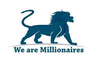 we are millionaires logo
