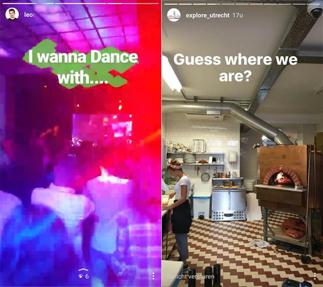 stories instagram voorbeeld