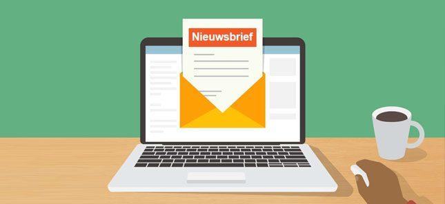 Nieuwsbrieven vanaf nu online (terug) te vinden