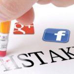 social media fouten