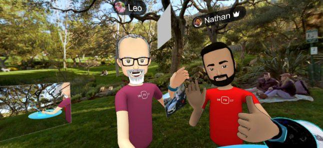 Facebook VR Spaces