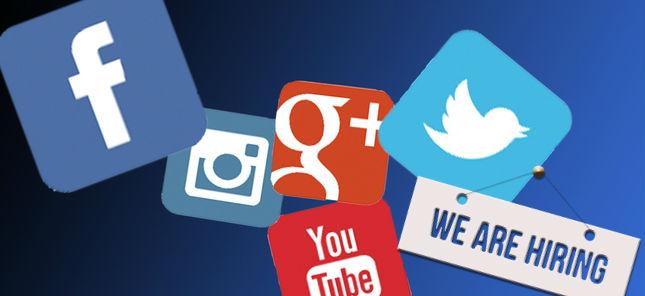 Peersoneel werven social media